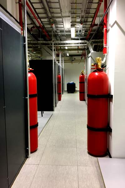 Fire Extinguishers in Data Centers