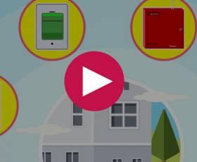 انیمیشن سیستم اعلام حریق بی سیم 2